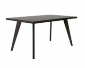 Dining Table in Wenge Finish Oswald by Euro Style EU-09861WEN
