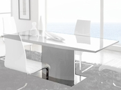 Dining Table in White Finish 33D412