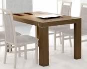 Dining Table Inez in Walnut European Design Made in Spain 33D142