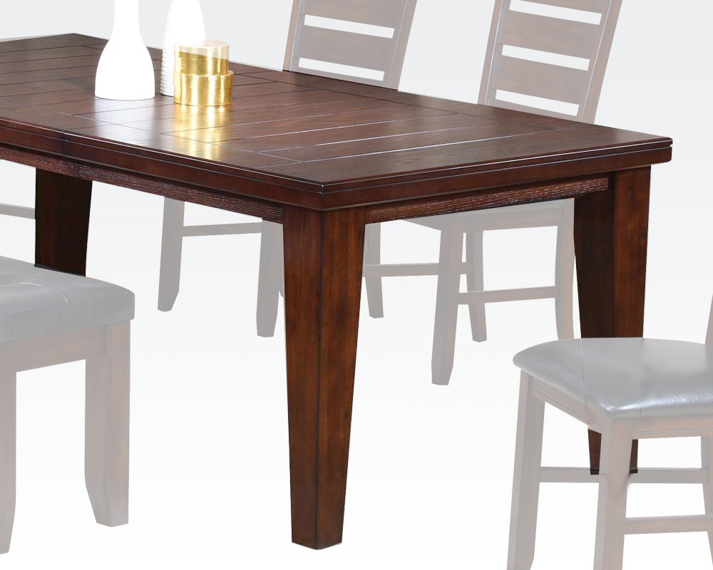 Dining table urbana cherry by acme furniture ac04620 for Table urbana but