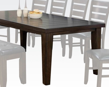 Dining table urbana espresso by acme furniture ac74620 for Table urbana but
