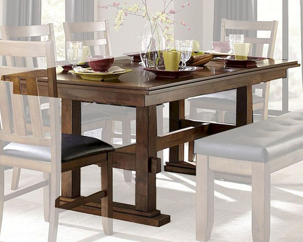 dining table w/ butterfly leaf kirtlandhomelegance el-1399-90 Butterfly Dining Table