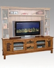 Distressed Oak TV Console SU-2702RO-TC