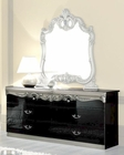 Double Dresser Silver Baroque Classic Style Made in Italy 33B445