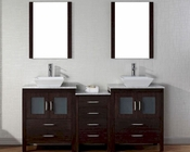 Double Espresso Bathroom Set Dior by Virtu USA VU-KD-70066-WM-ES