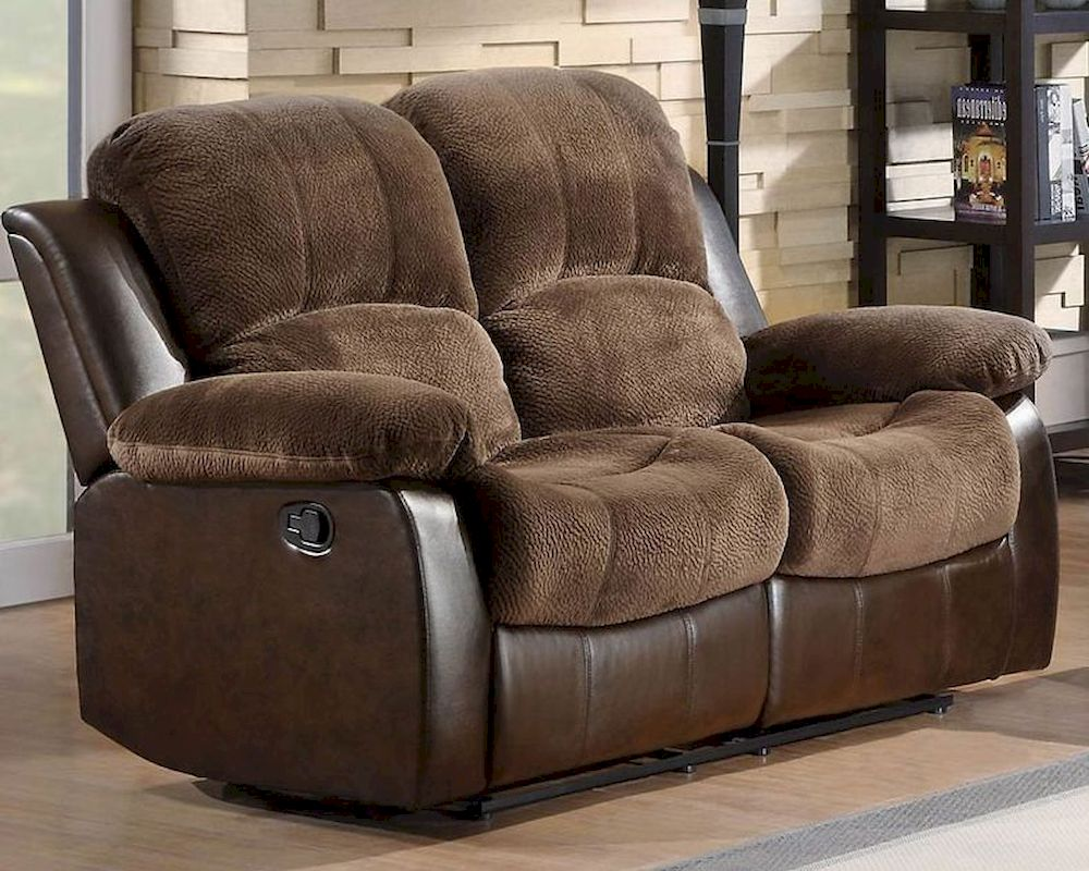 Double Glider Reclining Loveseat Cranley By Homelegance El 9700fcp 2