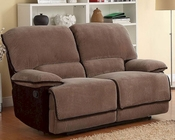 Double Glider Reclining Loveseat Grantham by Homelegance EL-9717-2