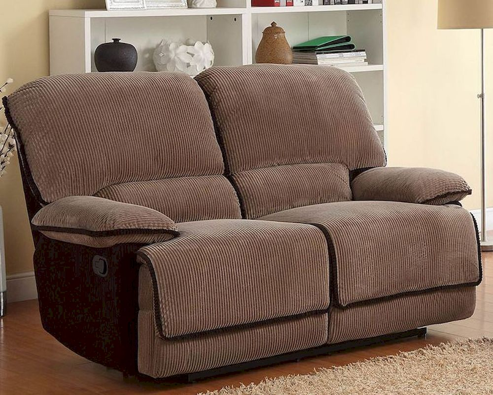 Double Glider Reclining Loveseat Grantham By Homelegance