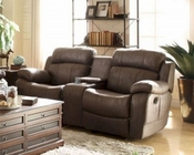 Double Glider Reclining Loveseat Marille by Homelegance EL-9724BJ-2