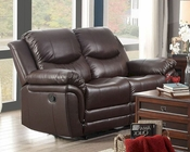 Double Reclining Loveseat St Louis Park by Homelegance EL-8515BRW-2
