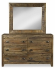 Drawer Dresser and Mirror River Road by Magnussen MG-B2375-20DM