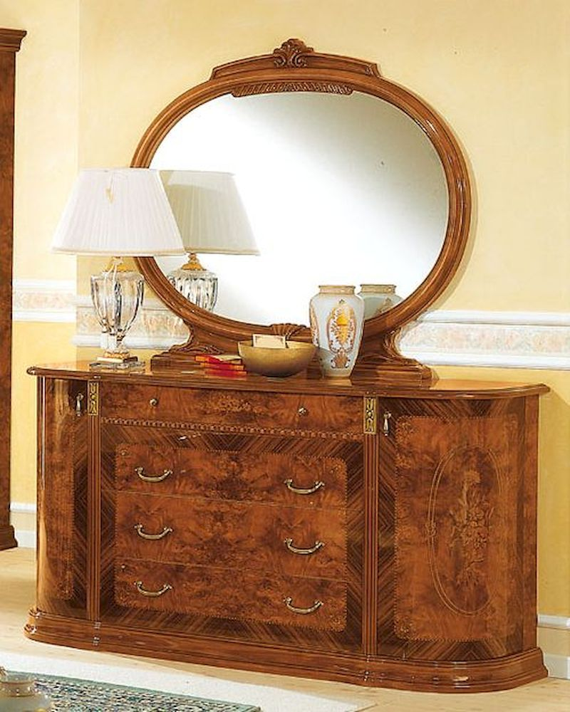 Dresser and mirror minerva european design made in italy for Design made in italy