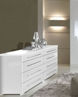 Dresser Blanca in White Modern Style Made in Italy 33B395