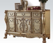 Dresser Dresden Gold by Acme Furniture AC23165