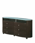 Dresser Elma in High Gloss Wenge Finish 35B25