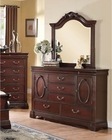 Dresser w/ Mirror Beverly by Acme Furniture AC20735DM