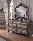 Dresser w/ Mirror Chantelle by Acme Furniture AC20545DM