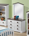 Dresser w/ Mirror Docila by Acme Furniture AC30226DM