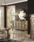 Dresser w/ Mirror Dresden Gold by Acme Furniture AC23165DM