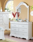 Dresser w/ Mirror Estrella by Acme AC30245DM