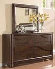 Dresser w/ Mirror in Contemporary Style MCFB367-DM