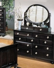 Dresser w/ Mirror in Espresso Amherst by Acme AC01795DM