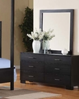 Dresser w/ Mirror London Canopy by Acme Furniture AC20065DM