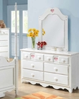 Dresser w/ Mirror Sweetheart by Acme AC30177DM