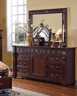 Dresser w/ Mirror Vevila by Acme Furniture AC20505DM