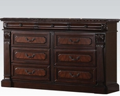 Dresser w/ Wood Top Roman Empire Acme AC19349