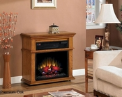 "Duraflame 32"" Infrared Rolling Fireplace Bennington TS-23IF1714"