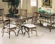 Egyptian Dining Set by Acme Furniture AC08630SET