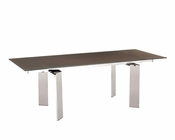 Elegant Dining Table in White European Design 33D172