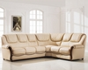 Elegant Sectional Sofa Set with Sleeper ESF102