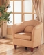 Elegant Tub Chair with Sloping Arms Civet MO-CIV