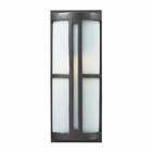 ELK 1- Light Outdoor Sconce in Graphite EK-42395-1