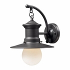 ELK 1- Light Outdoor Sconce in Graphite EK-42406-1