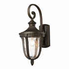 ELK 1- Light Outdoor Sconce in  Weathered Rust  EK-27000-1
