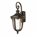 ELK 1- Light Outdoor Sconce in  Weathered Rust  EK-27001-1