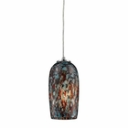 ELK 1- Light Pendant in Satin Nickel EK-31147-1