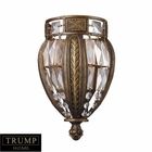 ELK 1 Light Sconce in Antique Bronze EK-2490-1