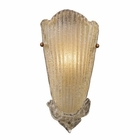 ELK 1 Light Sconce in Gold Leaf EK-1520-1