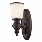 ELK 1 Light Sconce in Oiled Bronze EK-66630-1