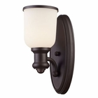 ELK 1 Light Sconce in Oiled Bronze EK-66670-1