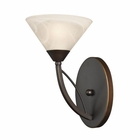 ELK 1 Light Vanity in Oil Rubbed Bronze EK-17640-1