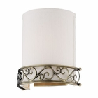 ELK 1- Light Wall Sconce in Antique Brass EK-11237-1