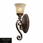 ELK 1 Light Wall Sconce in Burnt Bronze EK-2150-1