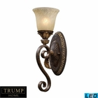 ELK 1 Light Wall Sconce in Burnt Bronze - Led EK-2150-1-LED