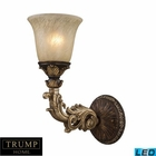 ELK 1 Light Wall Sconce in Burnt Bronze - Led EK-2154-1-LED