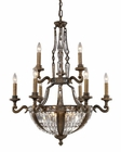 ELK 15 Light Chandelier Millwood EK-2497